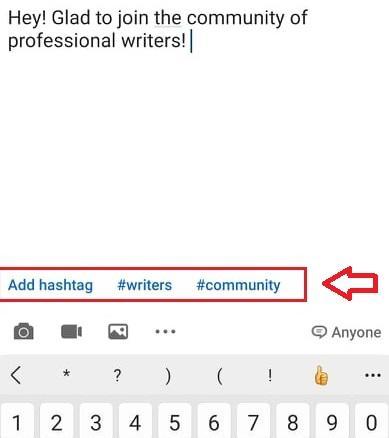 How to Create a New Hashtag on LinkedIn
