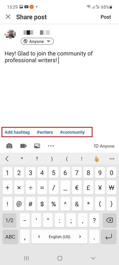 How to Use Hashtags on LinkedIn - picture 1