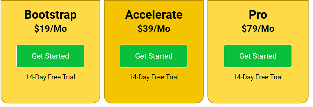 Ціни на SocialBee - зображення 1