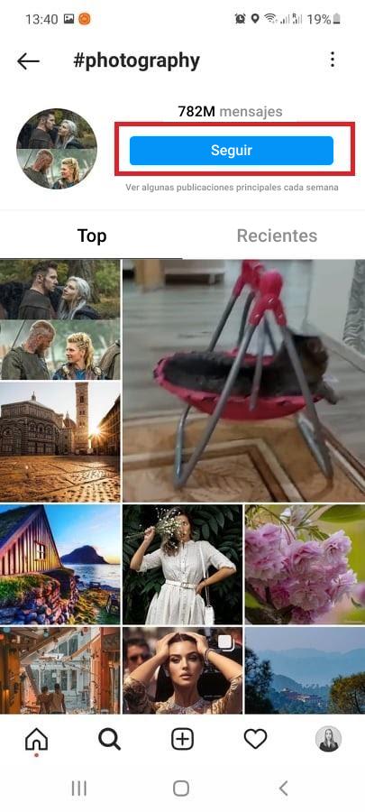 Cómo seguir hashtags en Instagram - Imagen 3