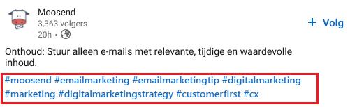 Comment trouver des hashtags sur LinkedIn? - image 1