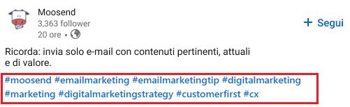 Come trovare hashtag popolari su Linkedin - immagine 1