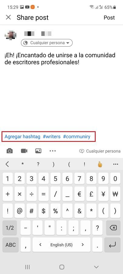 Cómo usar hashtags en LinkedIn - Imagen 1