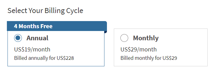 Ціни Hootsuite