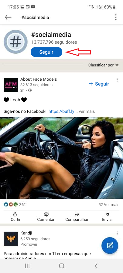 Como usar Hashtags no LinkedIn - imagem 2