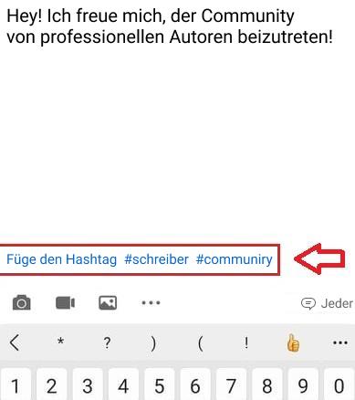 Wie Sie neue Hashtags auf LinkedIn erstellen können