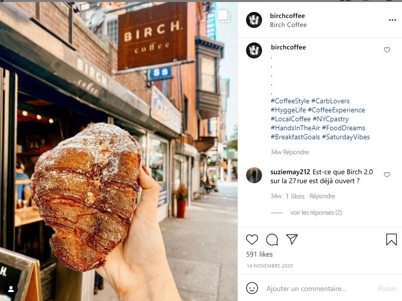 Type n° 5 : Hashtags de localisation