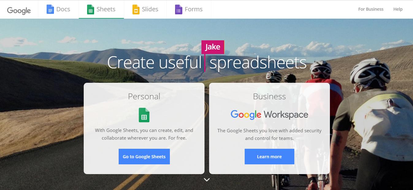 Tool #3: Google Sheets