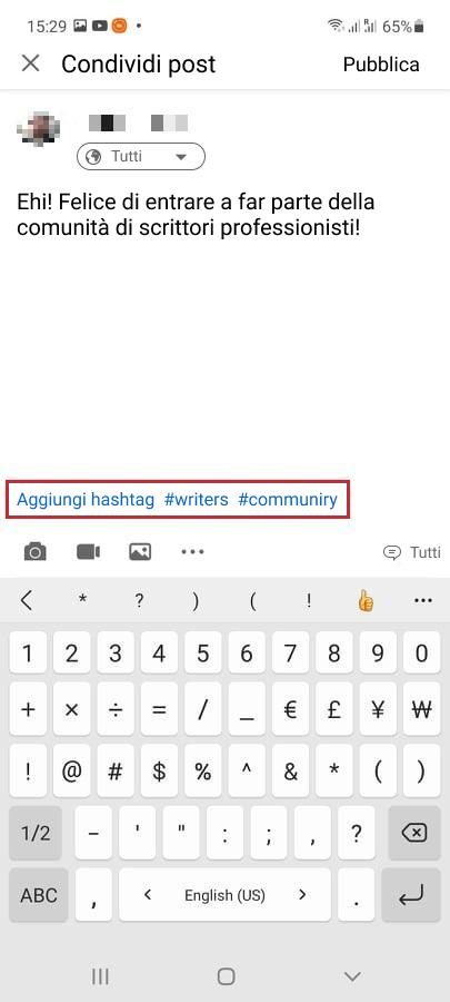 Come utilizzare gli hashtag su LinkedIn - immagine 1