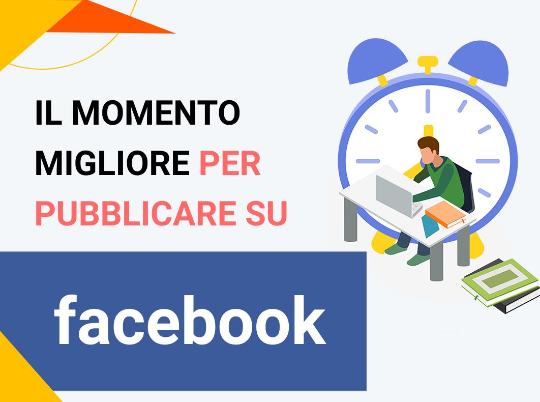 Il momento migliore per pubblicare su Facebook nel 2021 (per giorno e per settore)