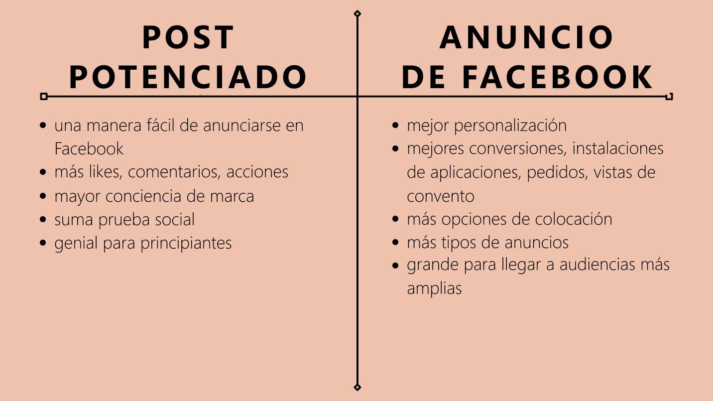 ¿Cuáles son las diferencias entre un anuncio y una publicación promocionada? - Imagen 2