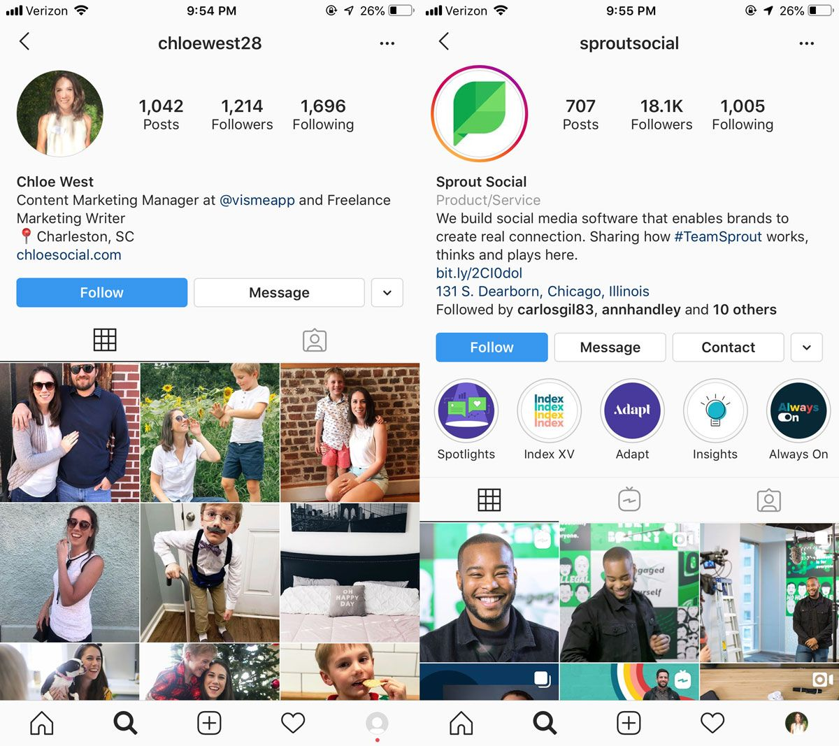 Benefits and features of an Instagram business account - picture 3