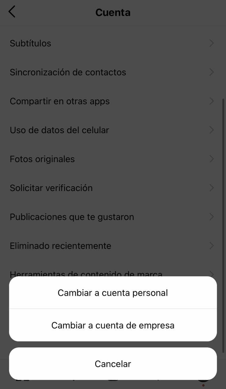 Cómo cambiar a una cuenta de negocios de Instagram - imagen 1