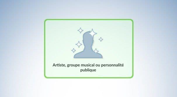 Artiste, groupe ou personnalité publique