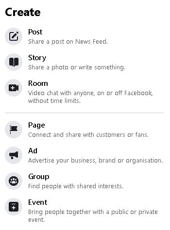 How to create a Facebook page for business - picture 1