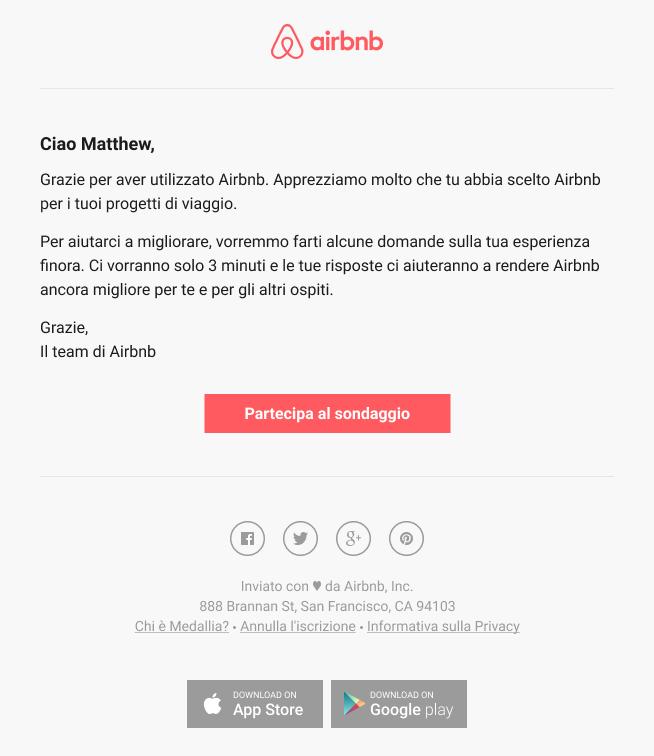 Usa l'email marketing