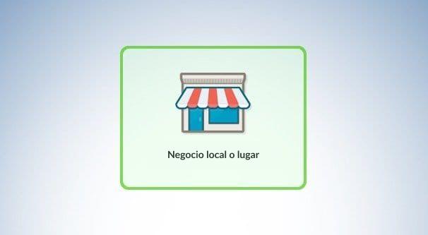 Negocio local o Lugar