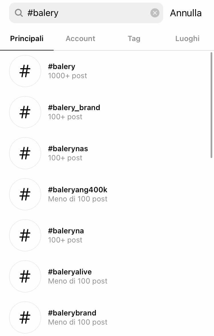 Come si ottengono tag popolari su Instagram? - immagine 1