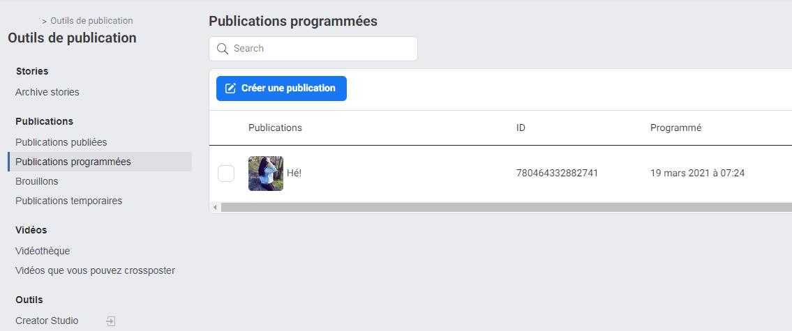 Comment reprogrammer, modifier ou supprimer des messages sur Facebook - image 2