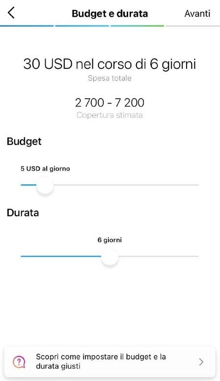 Come gestire annunci Instagram mirati con un budget limitato - immagine 4