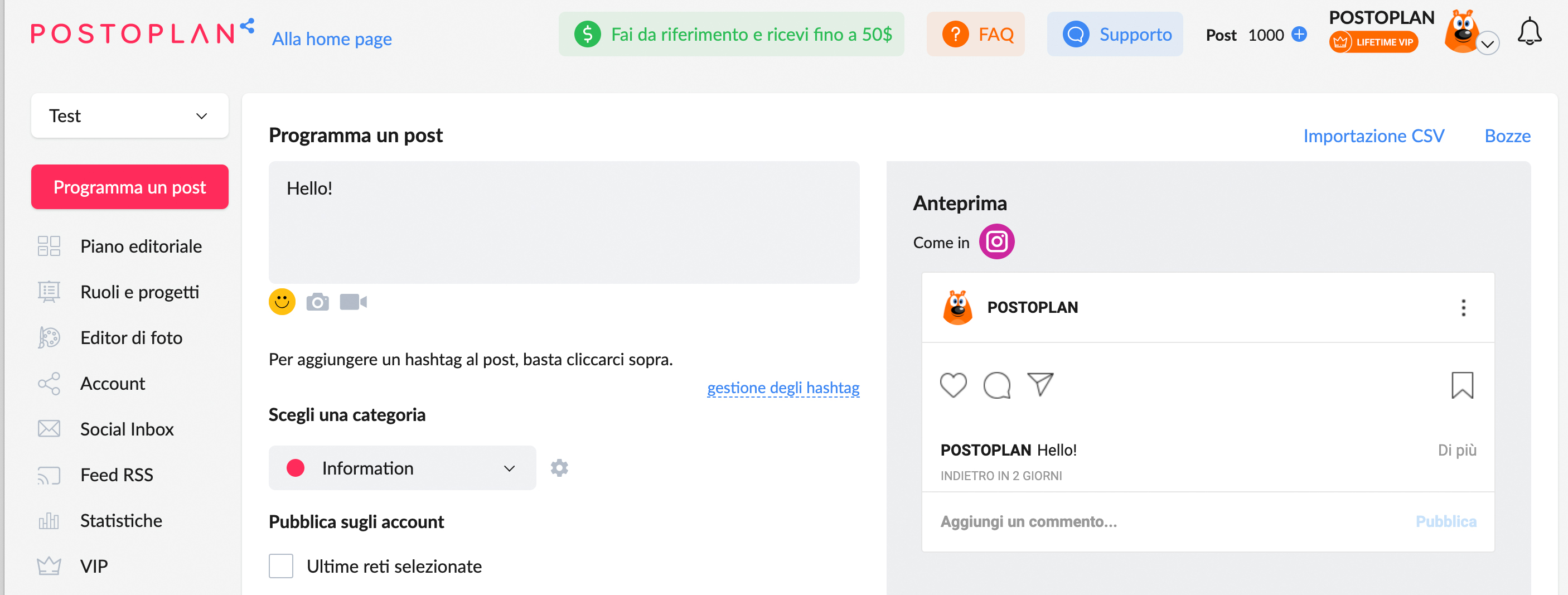Come automatizzare la pubblicazione sui social - immagine 1