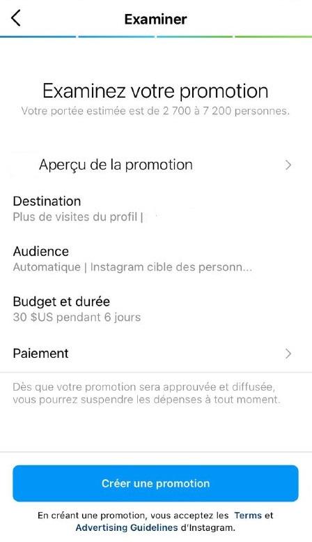 Comment diffuser des publicités ciblées sur Instagram avec un budget - image 3