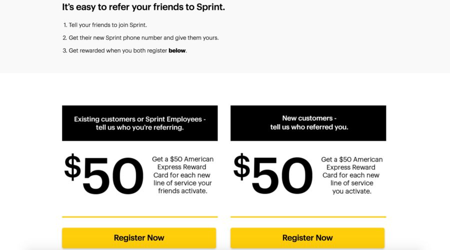 Try Referral marketing