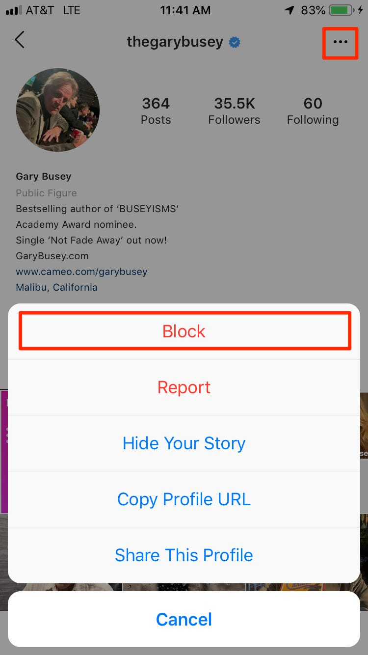 How to block fake followers - picture 1