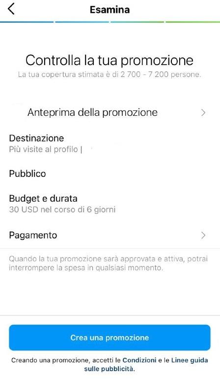 Come gestire annunci Instagram mirati con un budget limitato - immagine 3