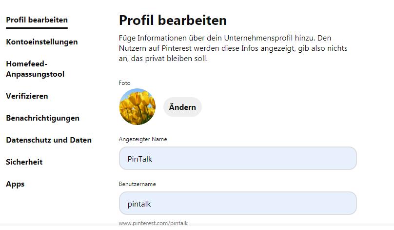 Wie erstelle ich eine Unternehmensseite auf Pinterest? - Bild 5