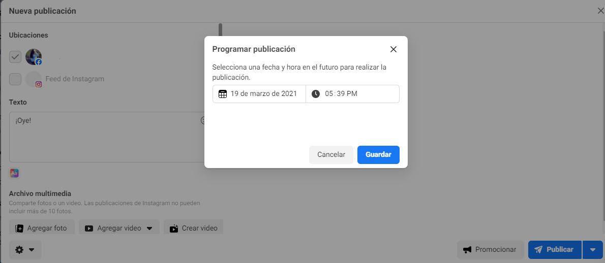 Cómo programar las publicaciones en Facebook - imagen 6