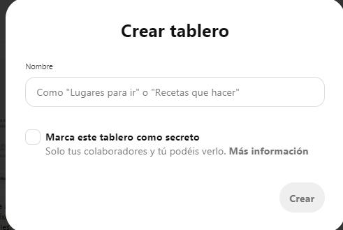 ¿Cómo crear una página de empresa en Pinterest? - imagen 7