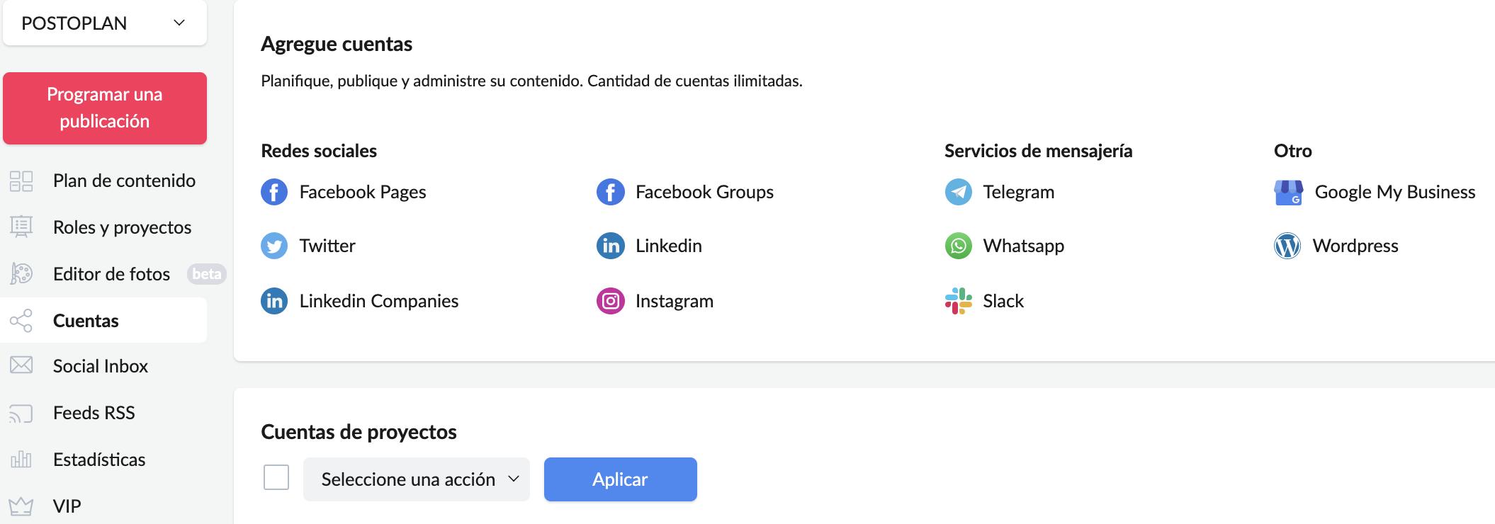 ¿Cómo programar una publicación de Facebook con Postoplan? - Imagen 7
