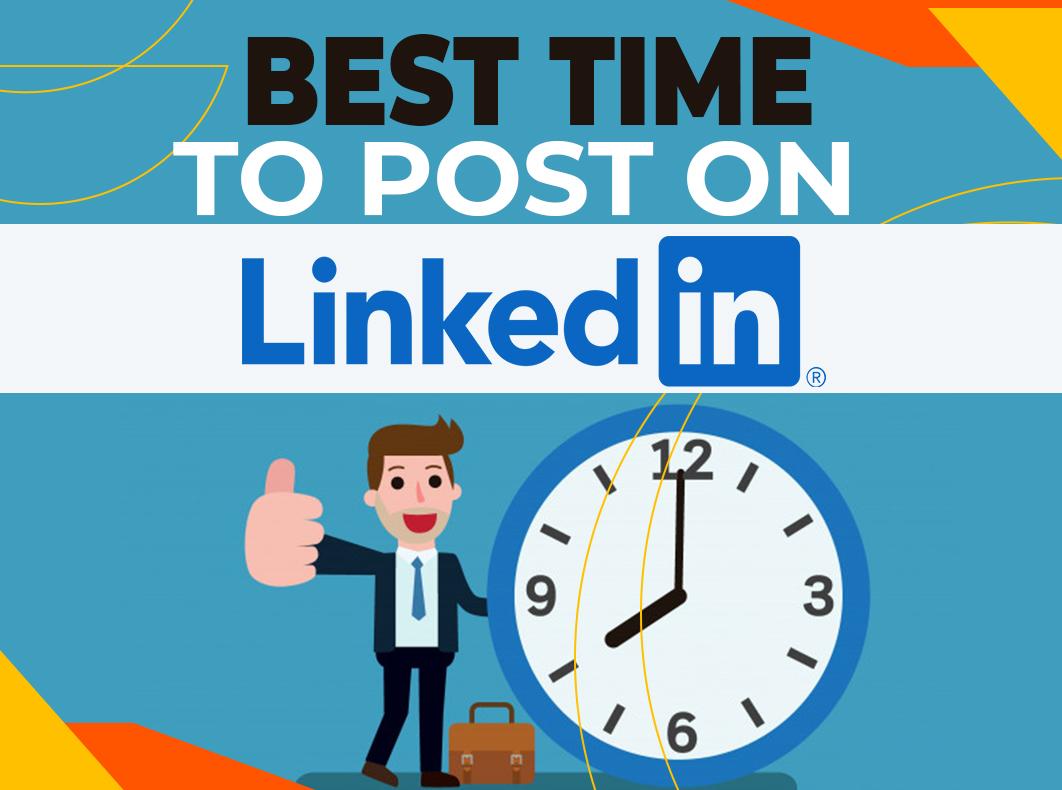 Лучшее время для публикации в LinkedIn в 2021 году