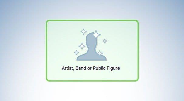 Artist, Band or Public Figure
