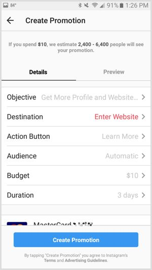 How to run targeted Instagram ads on a budget - picture 3