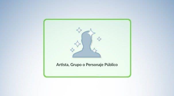 Artista, grupo o personaje público