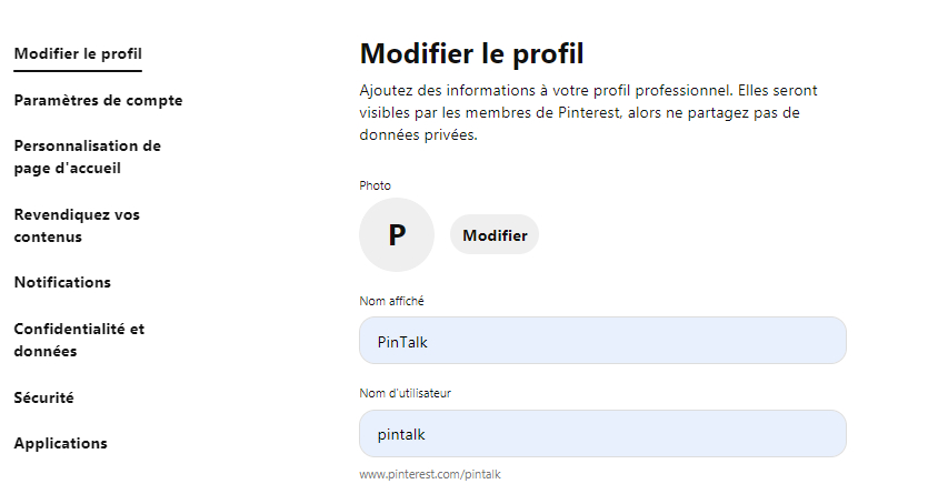 Comment créer une page professionnelle sur Pinterest? - image 5
