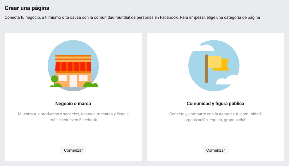 Cómo crear una página de Facebook para empresas - imagen 2
