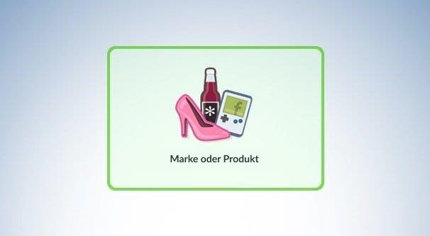 Marke oder Produkt