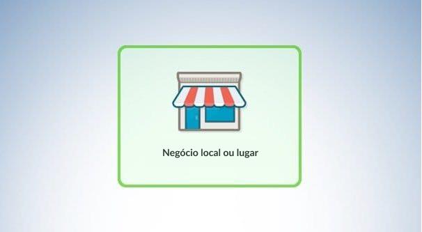 Empresa, local ou lugar