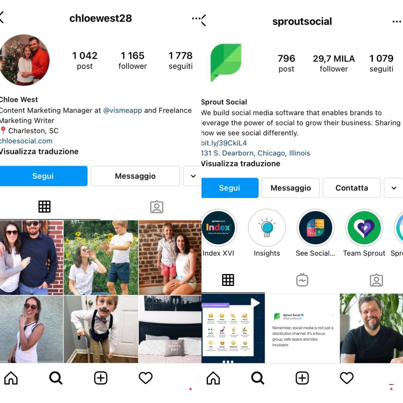 Vantaggi e caratteristiche di un account aziendale Instagram - immagine 3