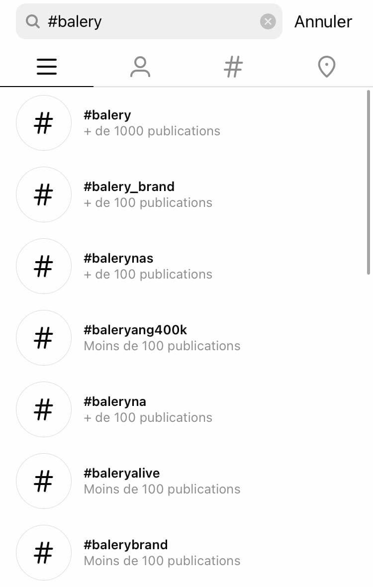 Comment trouver des tags populaires sur Instagram? - image 1
