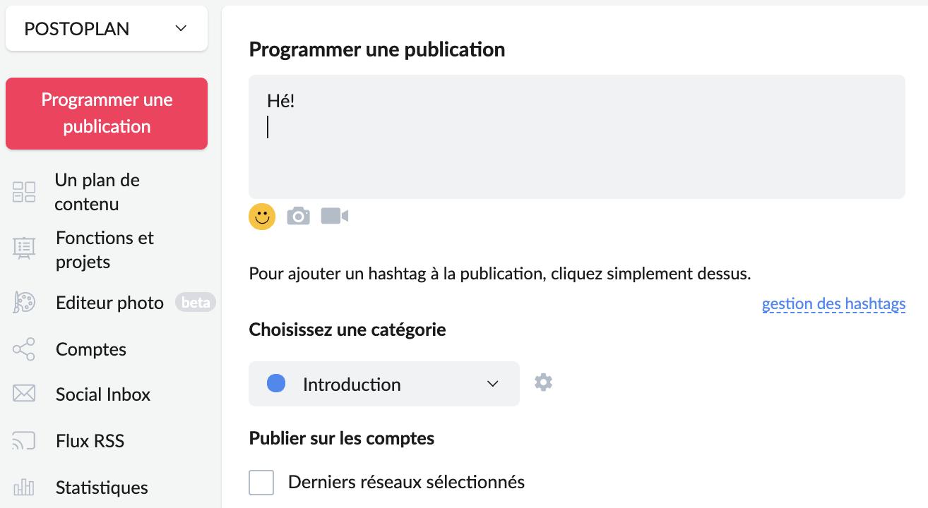 Comment programmer des posts sur Facebook avec Postoplan - image 2