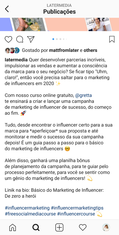 Como usar hashtags no Instagram - imagem 1
