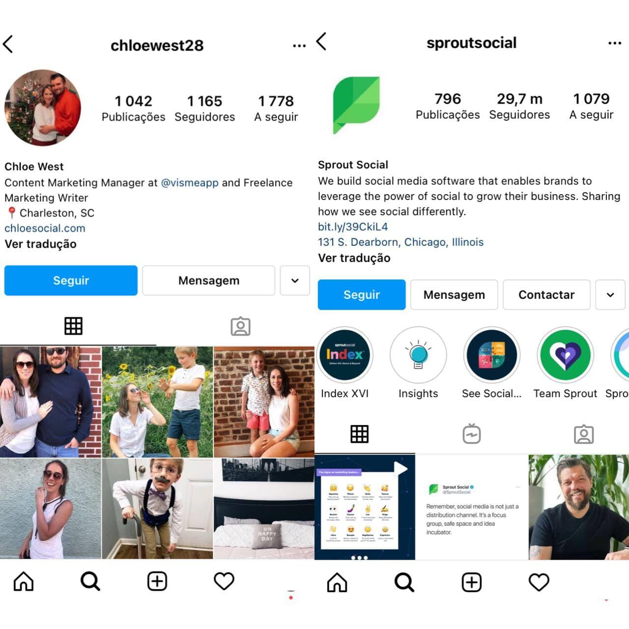 Benefícios e recursos de uma conta empresarial do Instagram - imagem 3