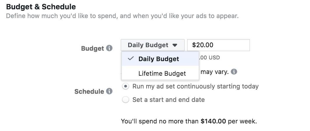 How to run targeted Facebook ads on a budget - picture 2