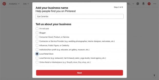 How do I create a business page on Pinterest? - picture 2