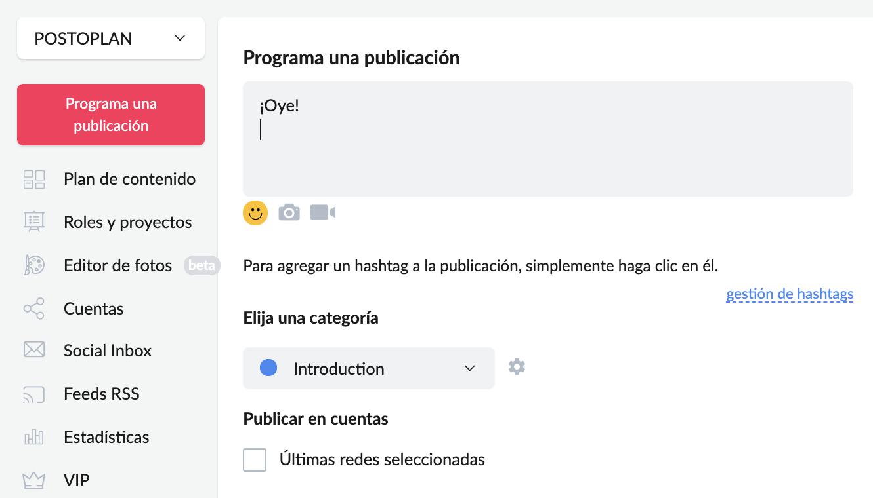 Cómo programar publicaciones en Facebook con Postoplan - imagen 2