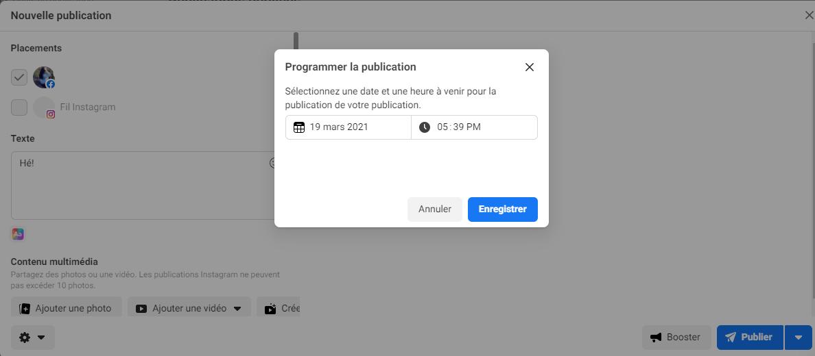 Comment programmer les publications sur Facebook - image 6